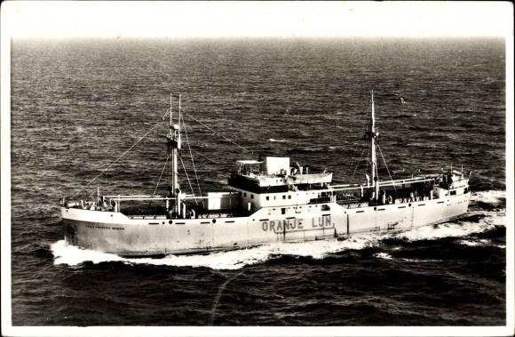 Postcard Dampfschiff Ms Prins Frederik Hendrik Akpoolcouk