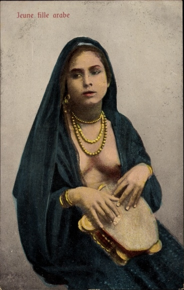 Fille Arabe ansichtskarte / postkarte Ägypten, jeune fille arabe, | akpool.de