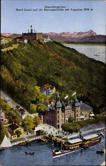 Berg Am Starnberger See ansichtskarte postkarte berg am starnberger see in akpool de