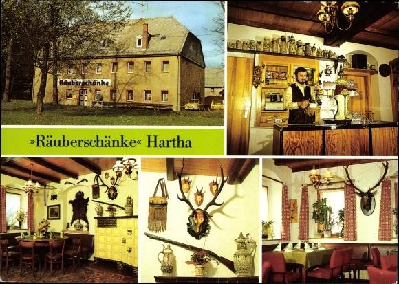 Ansichtskarte / Postkarte Hartha Oederan Sachsen, Blick | akpool.de