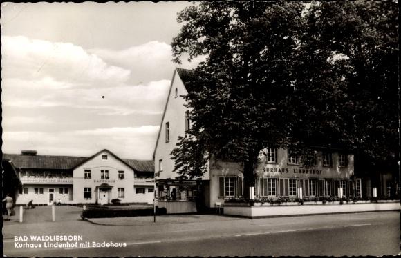 postcard bad waldliesborn lippstadt im kreis soest | akpool.co.uk