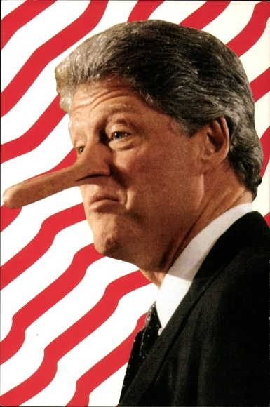 präsident bill clinton