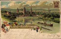 Künstler Aschaffenburg ansichtskarten 637 aschaffenburg akpool de