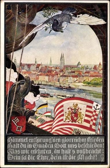 Künstler Bremen künstler wappen ansichtskarte postkarte honegger max akpool de