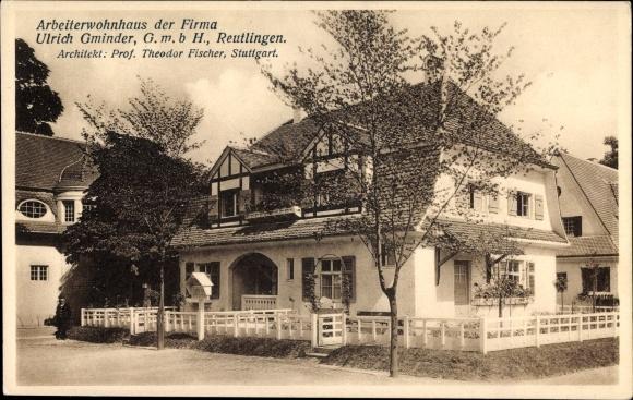 Architekt Reutlingen ansichtskarte postkarte reutlingen baden württemberg akpool de