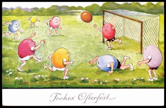 ostern fussball