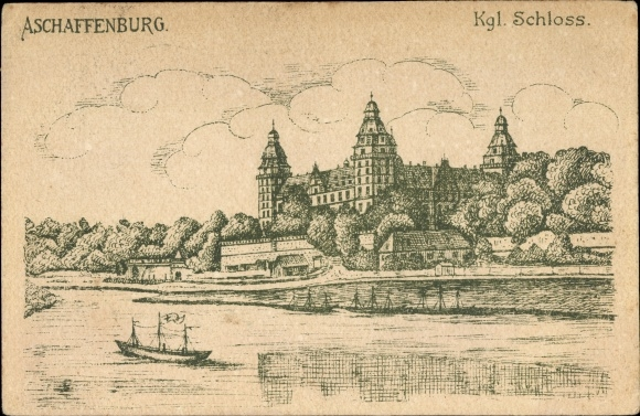 Künstler Aschaffenburg künstler ansichtskarte postkarte aschaffenburg akpool de