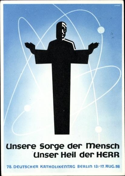 Postcard Berlin Mitte, Werbekarte 78. Deutscher | akpool.co.uk