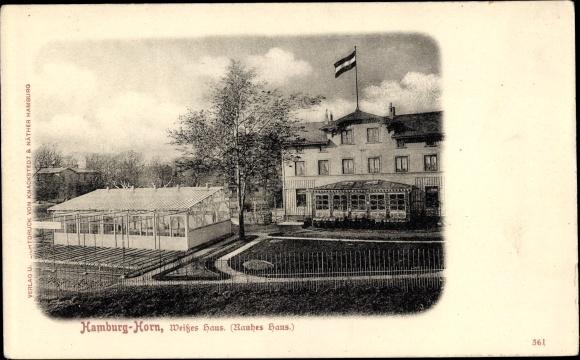 Ansichtskarte Postkarte Hamburg Mitte Horn Weisses Haus Akpool De