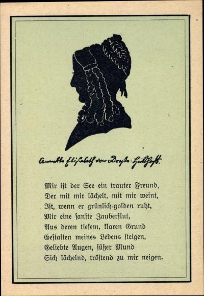 Scherenschnitt Postcard Meersburg Im Bodenseekreis Akpool