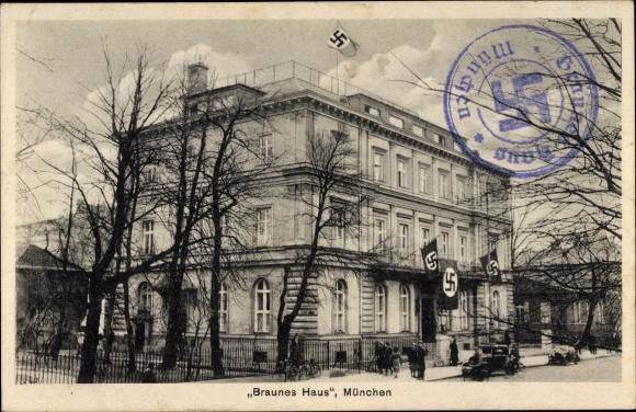 Braunes Haus ansichtskarte postkarte münchen bayern braunes haus mit akpool de