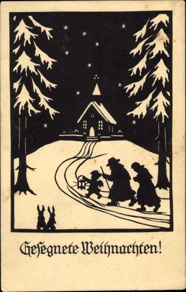 Weihnachten Scherenschnitt.Scherenschnitt Postcard Glückwunsch Weihnachten Engel Akpool Co Uk