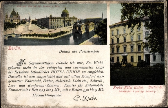 Ansichtskarte / Postkarte Berlin Mitte, Kgl. Schloss, Dom, | akpool.de