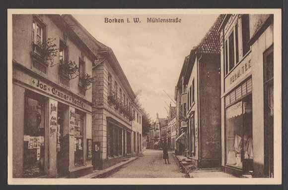 Bildergebnis für borken westfalen historisch postkarte