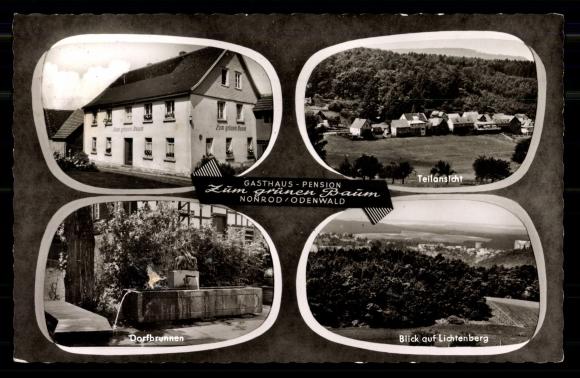 Ansichtskarte / Postkarte Nonrod Fischbachtal, Gasthaus Zum Grünen Baum