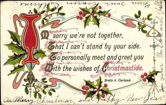 Buchstaben Frohe Weihnachten.Präge Buchstaben Ansichtskarte Postkarte Frohe Akpool De