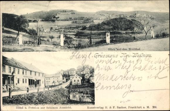 Postcard Neuweilnau Weilrod Im Weiltal Taunus Hotel U Akpool Co Uk