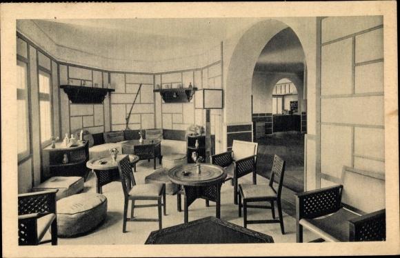 Postcard Agadir Marokko Hôtel Marhaba Salon Arabe Akpoolcouk