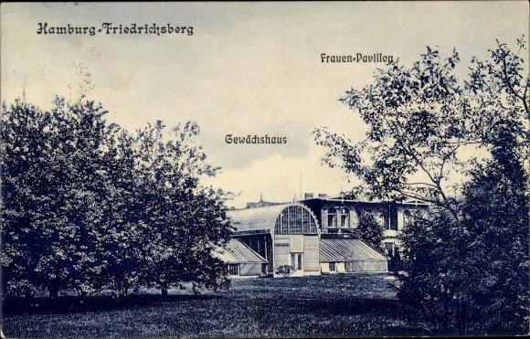 Ansichtskarte Postkarte Hamburg Friedrichsberg Barmbek Akpool De