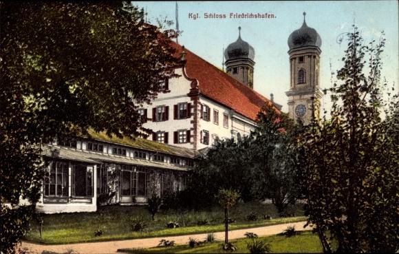 Ansichtskarte Postkarte Friedrichshafen Am Bodensee Akpoolde