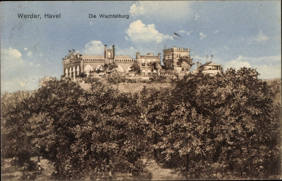 Postcard Werder An Der Havel Wachtelburg Akpool Co Uk