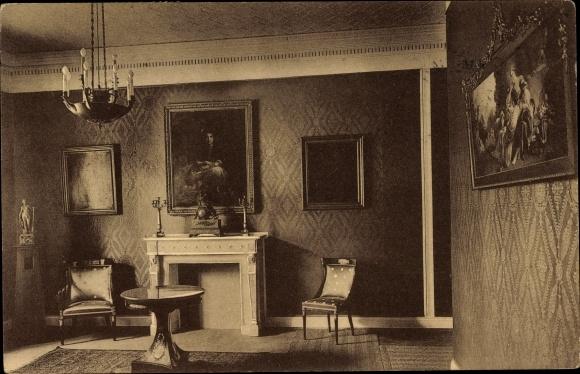 Postcard Hamburg Tapeten Ausstellung 1911 Wohnzimmer Akpool Co Uk