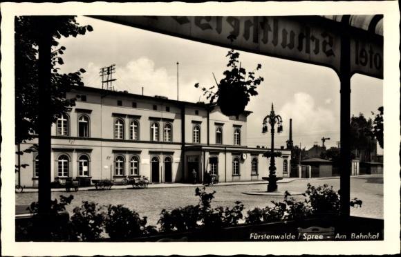 Ansichtskarte Postkarte Furstenwalde An Der Spree Akpool De
