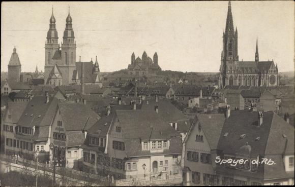Photo Postcard Speyer am Oberrhein Rheinland Pfalz,   akpool