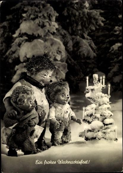 Frohe Weihnachten Film.Postcard Mecki Der Igel Frohe Weihnachten Akpool Co Uk