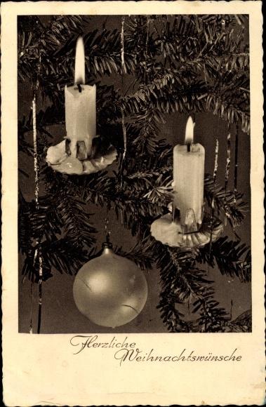 Weihnachtswünsche Kerze.Postcard Glückwunsch Weihnachten Brennende Kerzen Akpool Co Uk