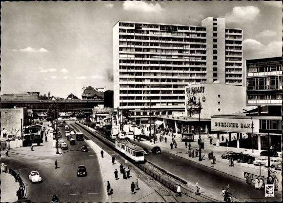 Postcard Berlin Charlottenburg Hardenbergstrasse Mit Akpool Co Uk
