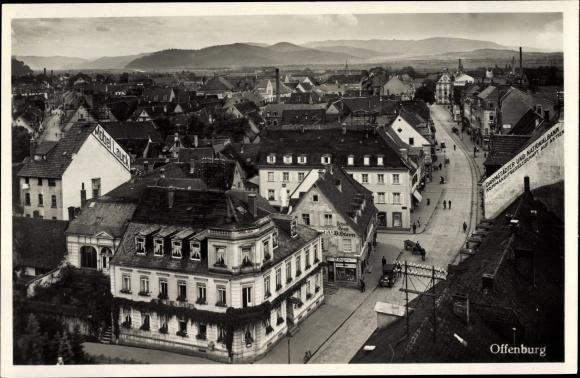 Ansichtskarte Postkarte Offenburg Am Schwarzwald Möbel Akpoolde