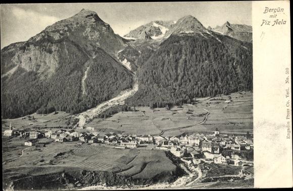 Piz Aela 2281544 Ak Bergün Bravuogn Kt Graubünden Schweiz