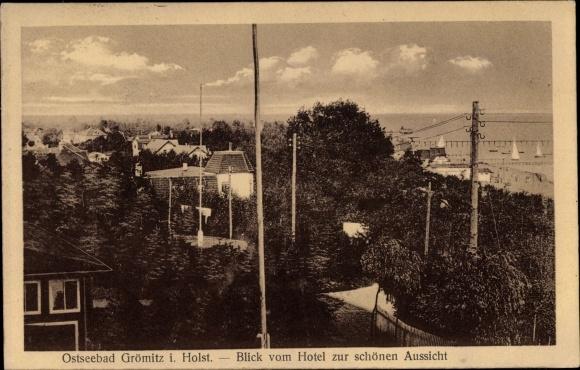 Ansichtskarte Postkarte Gromitz In Ostholstein Blick Akpool De