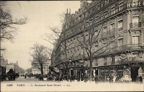 Ansichtskarte Postkarte Paris V Boulevard Saint Akpool De