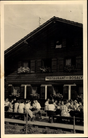 Postcard Chatel Saint Denise Kanton Fribourg Akpool Co Uk