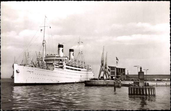 schiff helgoland ab cuxhaven