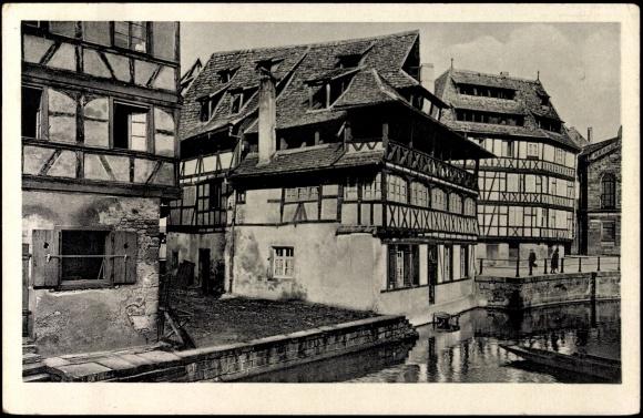 ansichtskarte postkarte strassburg cpa 67 pflanzbad. Black Bedroom Furniture Sets. Home Design Ideas