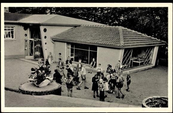 Postcard Eckernförde, Stiftung Missions Kinderheim Altenhof