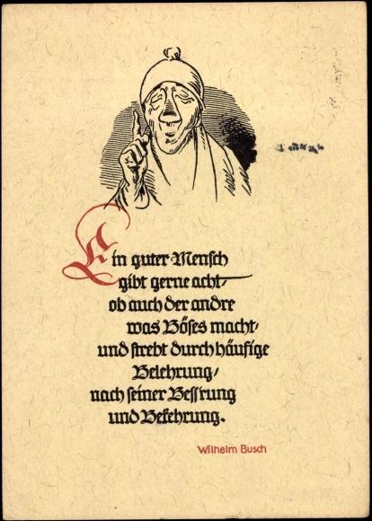 Gedichte Wilhelm Busch Geburtstag Geburtstag Gedichte