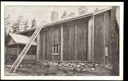 Postcard Seurasaari Finnland, Kurssi gard fran Kuortane