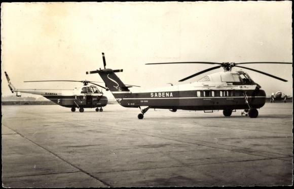 Elicottero S 55 : Ansichtskarte postkarte melsbroek helicopter s