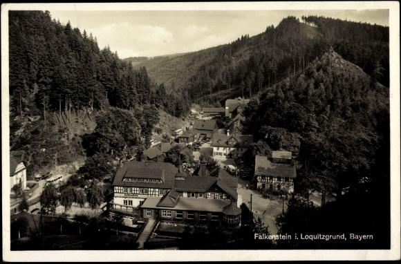 Villa Falkenstein postcard ludwigsstadt loquitzgrund bayern villa akpool co uk