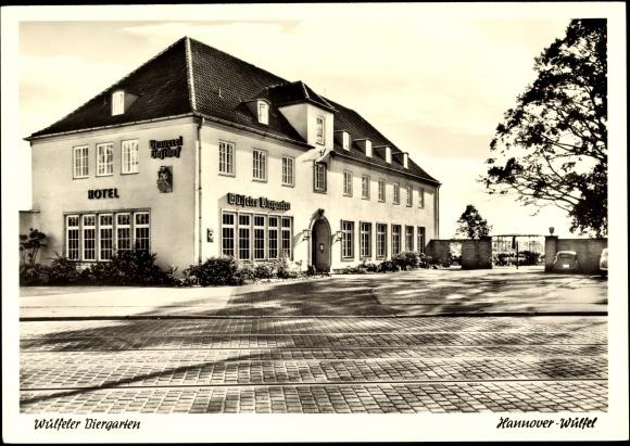 Ansichtskarte Postkarte Hannover Wulfel Hotel Wulfeler Akpool De