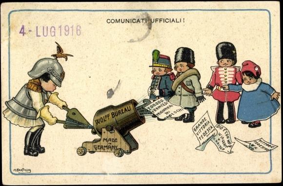 Ansichtskarte postkarte wolffs telegraphisches bureau akpool.de