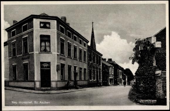 Carte postale Neu Moresnet Kelmis Wallonien Lüttich,Hotel Reinartz