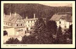 Postcard Drei Ähren b. Colmar Elsaß, die Hotels