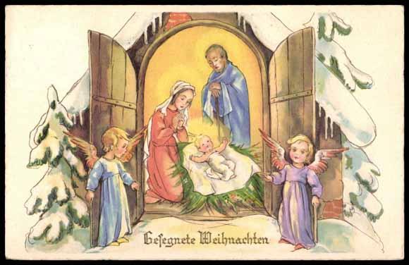 Christkind Bilder Weihnachten.Postcard Gesegnete Weihnachten Christkind Engel Akpool Co Uk