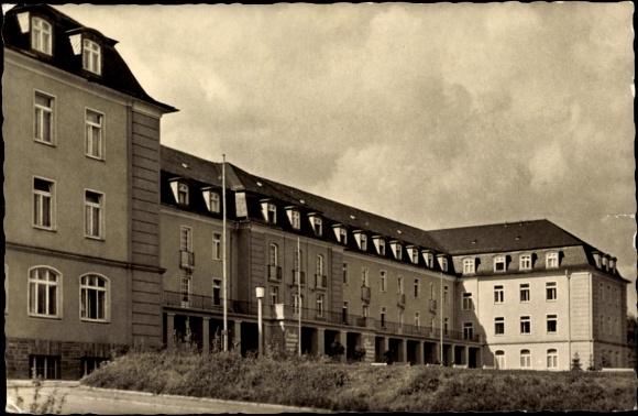 Ansichtskarte / Postkarte Niederschlema, Nachtsanatorium J.W. Stalin