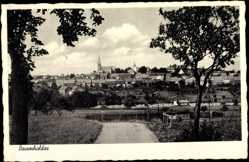 Postcard Baumholder Rheinland Pfalz, Stadtansicht